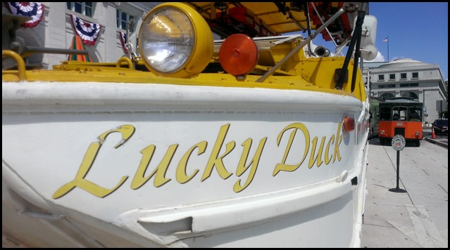 Lucky Duck boat