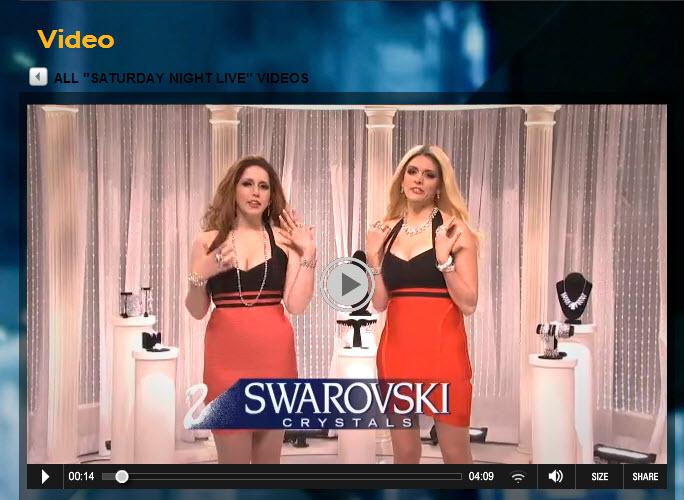 Swarovski SNL skit