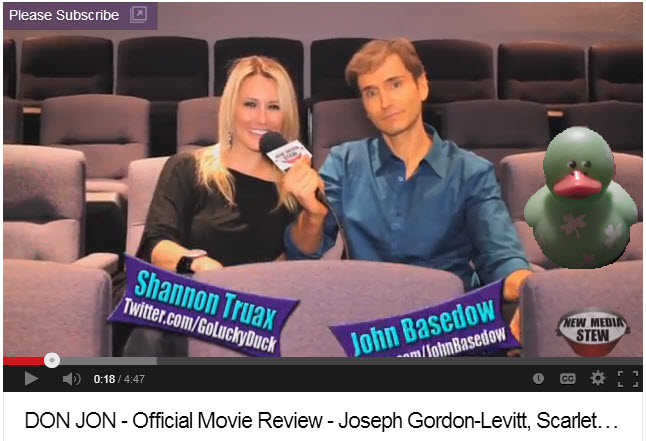 Don Jon Review by Shannon Truax and John Basedow