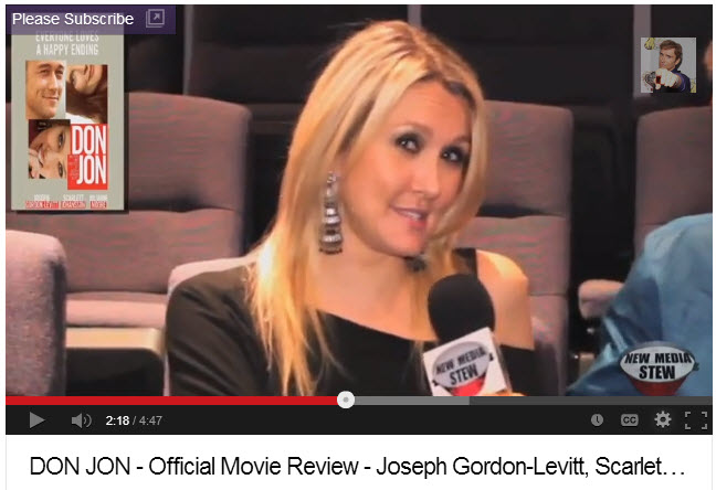 Shannon Truax Close Up Don Jon Review