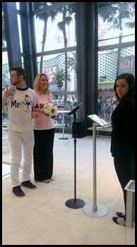 The Cosmopolitan Wedding Pop Up Shop