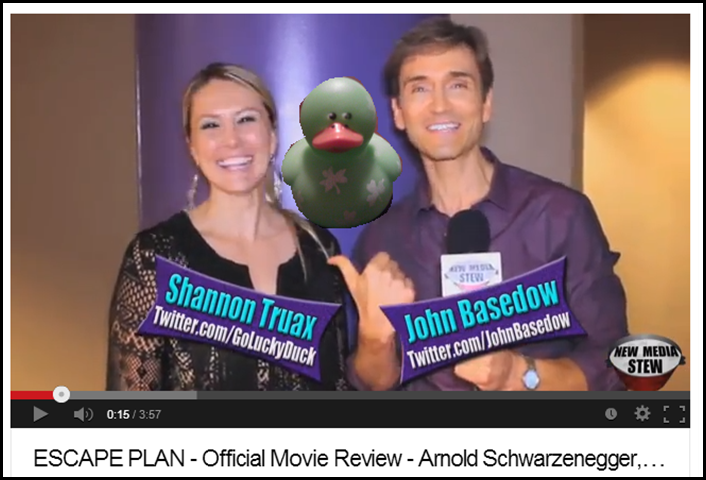 Shannon Truax and John Basedow review Escape Plan