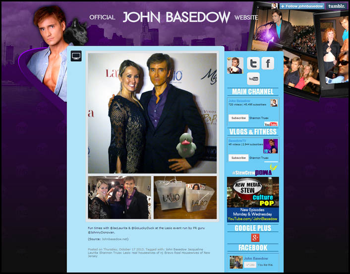 Shannon Truax on John Basedow's website