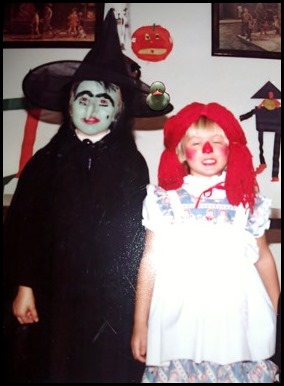 Witch and Raggedy Ann and Lucky Duck