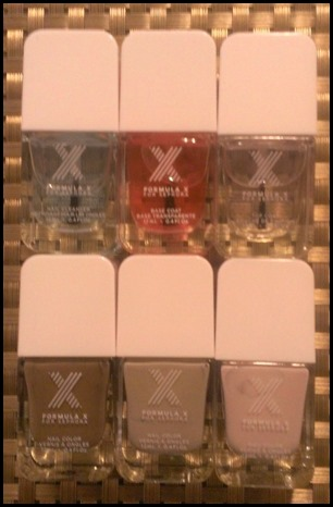 My bottles of Formula X