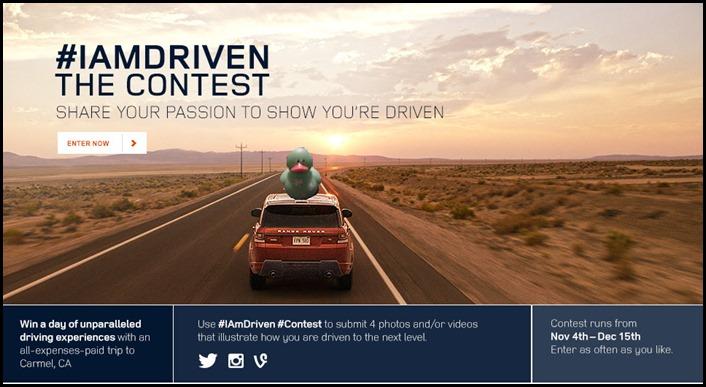 #IAmDriven #Contest
