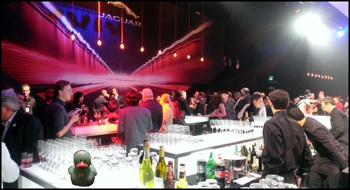 Jaguar F Type Coupe Unveiling Party