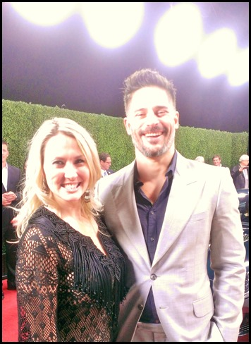 Shannon Truax and Joe Manganiello at Jag F Type Coupe Unveiling