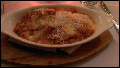 Lasagna at Da Marino NYC