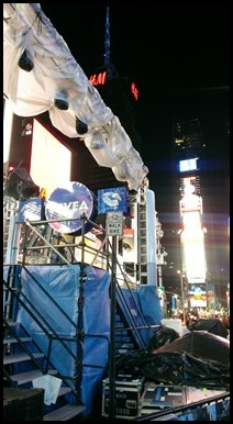 New Year's Eve at Times Square in NYC