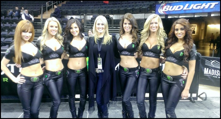 Shannon Truax and the Monster girls