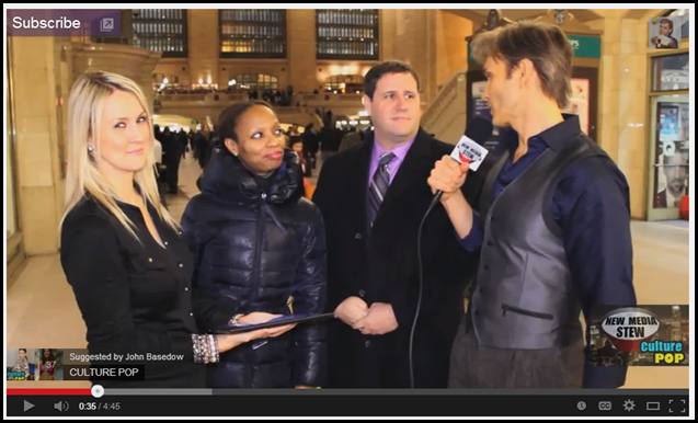 Interviewing with John Basedow at Grand Central Station