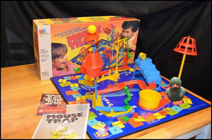 Mouse Trap Board Game from the 80s - 90s