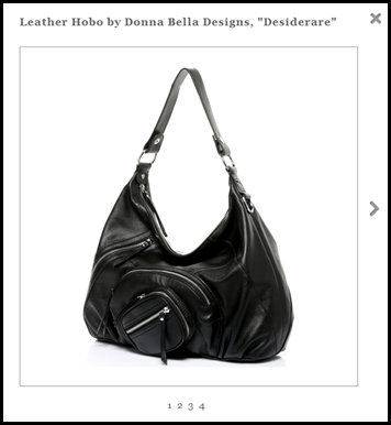 Desiderare Leather Hobo
