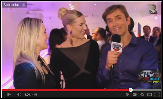 John Basedow makes Kristen Taekman and me laugh