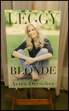 Leggy Blonde by Aviva Drescher