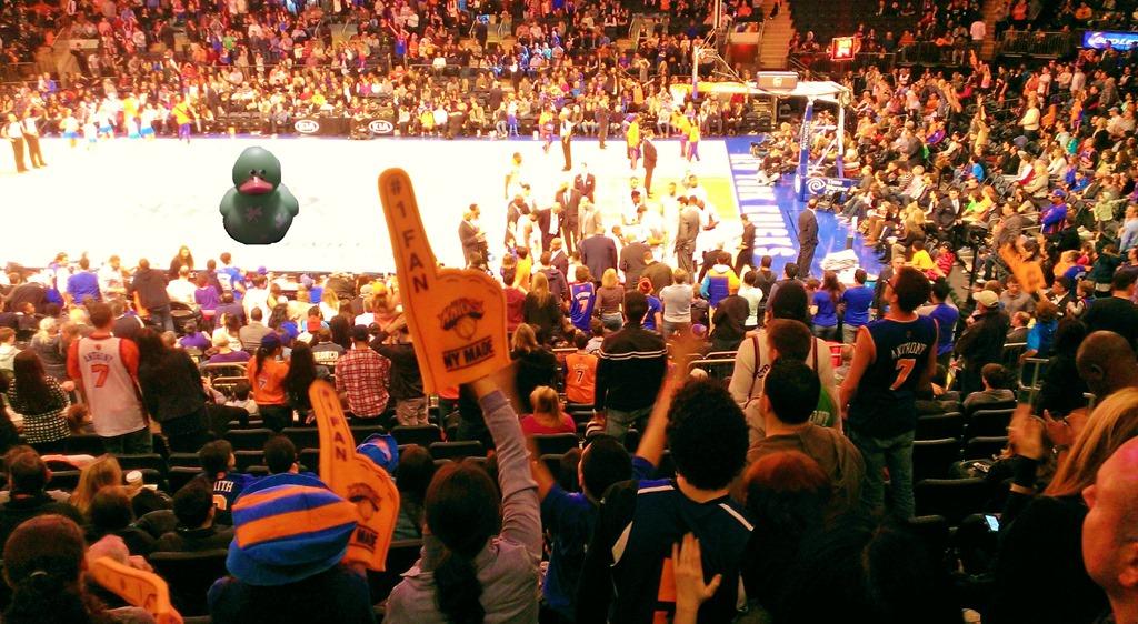 New York Knicks At MSG