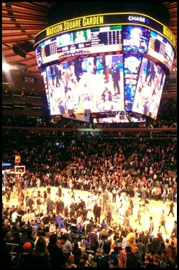 New York Knicks win