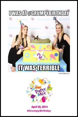 Katrina and Shannon attend Grumpy Cat 2nd birthday