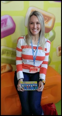 Shannon at the PEZ Visitor Center