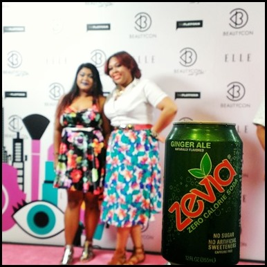 Fans and Zevia take the step and repeat