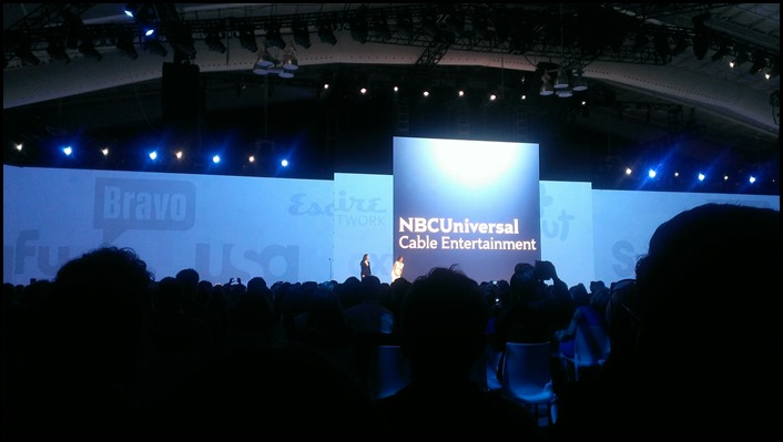 NBC Upfronts in NYC