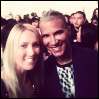 Shannon Truax and Jay Manuel at BeautyCon in NYC
