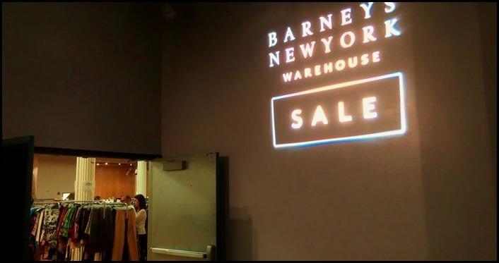 Barney's New York Warehouse Sale