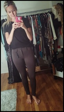 J Brand Neoprene pants