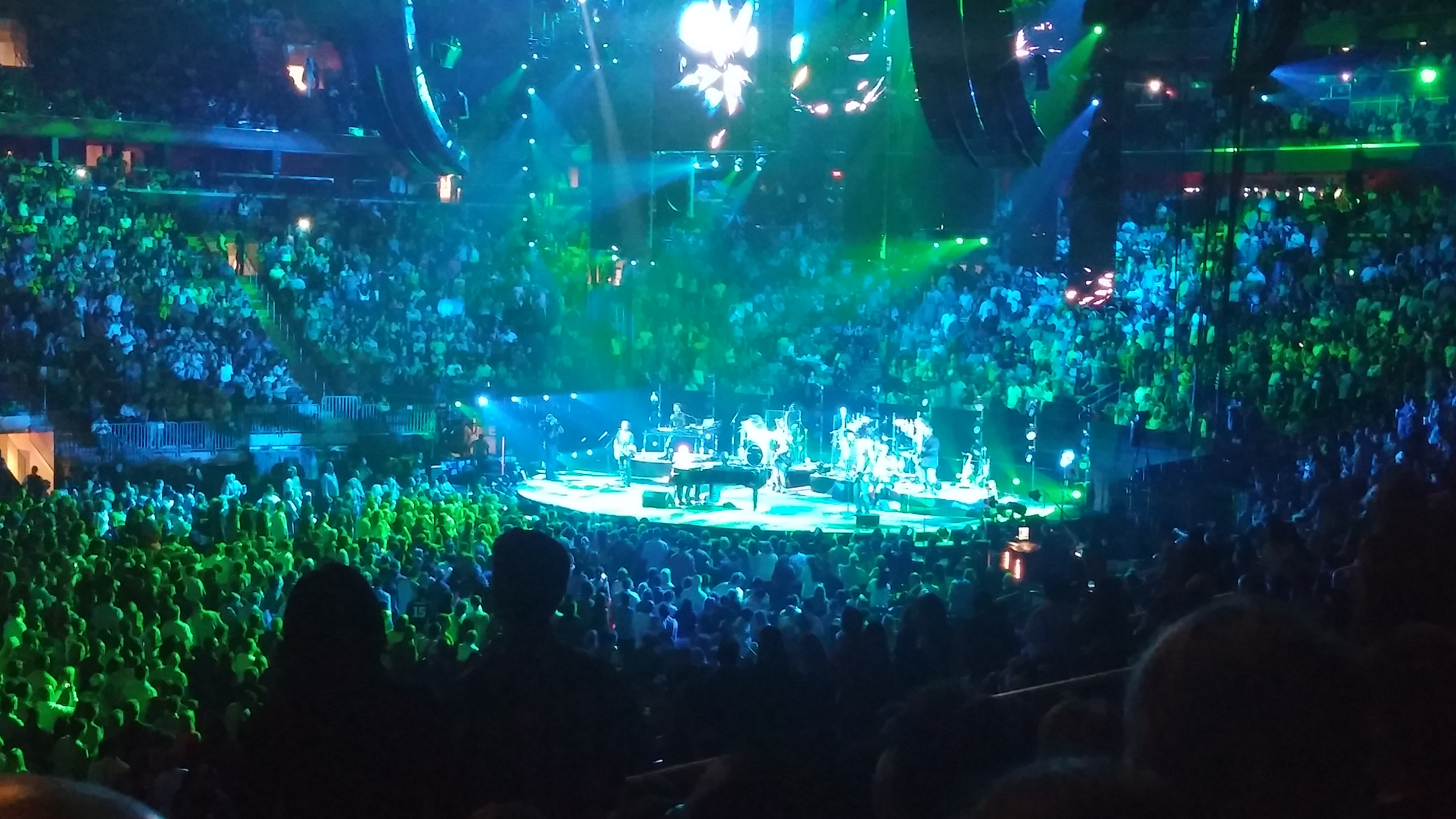 billy joel at madison square garden in nyc through the