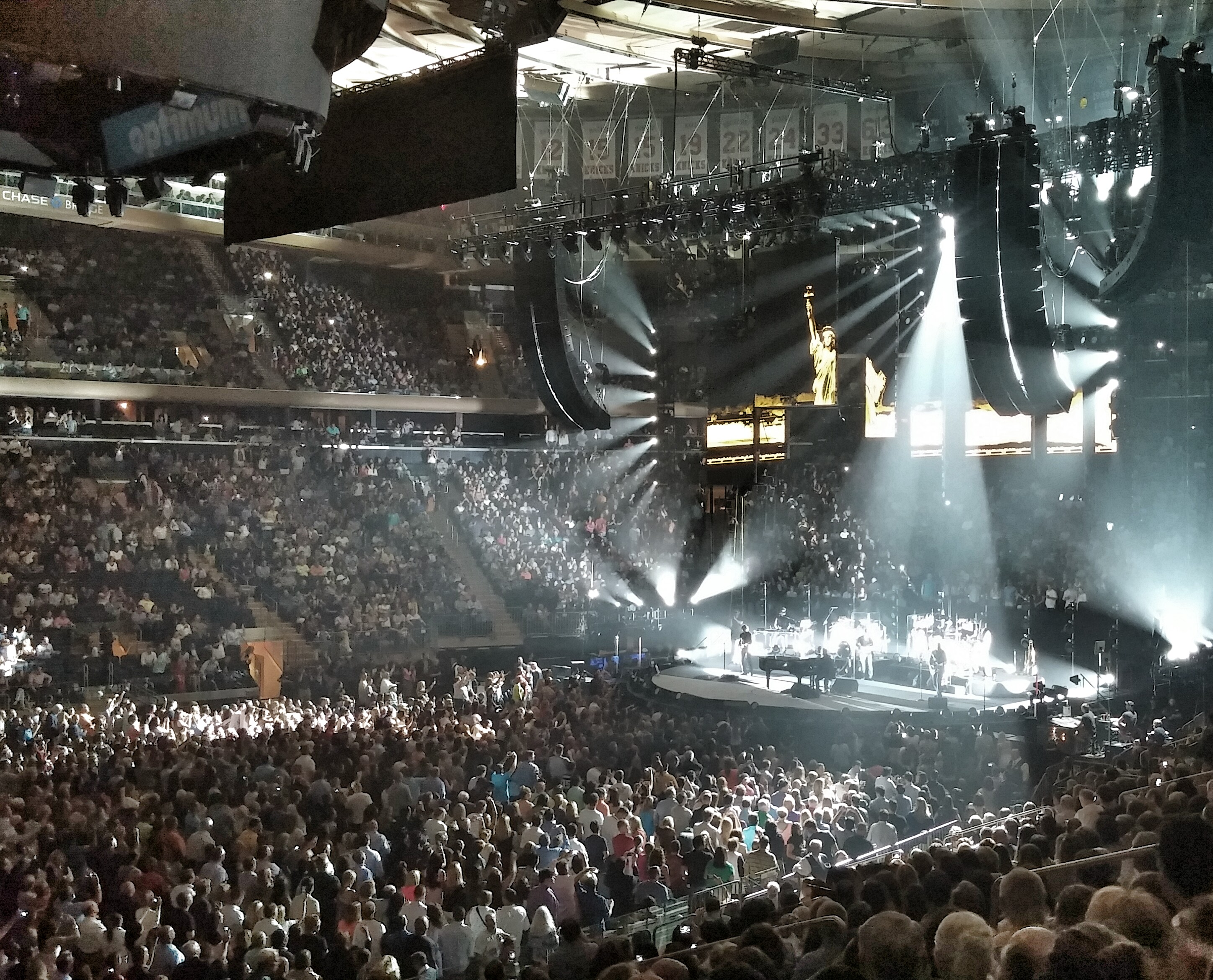 Billy Joel at Madison Square Garden in NYC through the lens of my
