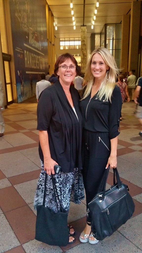 Shannon Truax and her mom at Billy Joel